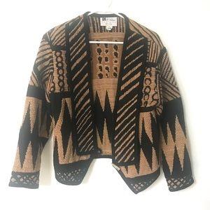 Vintage | Knit Moto Jacket